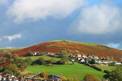 Clouds over the hill (kaylo88) Tags: blue sky cloud white mountain green grey cloudy heather hill clear valley hillside