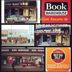 | no.69 | | Book Warehouse | (onemillionreasonstolovevancouver) Tags: world city people tourism home promotion vancouver book cool realestate profile today l4l vancity downtownvancouver metrovancouver onemillion cityofvancouver vancouverite vancouvercity bookhouse vancouvertourism vancouverrealestate vanone awesomevancouver instaphoto instagood instafollow uploaded:by=flickrmobile flickriosapp:filter=nofilter miguelboccanegra thegreatervancouverarea