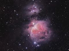 M42_2013-LRGB (Chuck Manges) Tags: orion m42 Astrometrydotnet:status=solved at65edq qhy9m Astrometrydotnet:id=nova134578