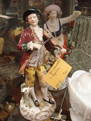 """PAIR PORCELAIN FIGURINES, GERMAN. • <a style=""""font-size:0.8em;"""" href=""""http://www.flickr.com/photos/51721355@N02/11120879315/"""" target=""""_blank"""">View on Flickr</a>"""
