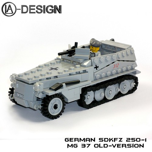 LEGO Custom WW2 german SdKfz 250-1 1