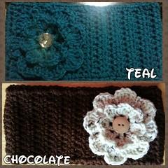 Crochet headbands earwarmers (ExoticDesigns) Tags: crochet headbands earwarmers headwraps flickrandroidapp:filter=none