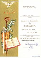 Crisma André Luiz Riegel Prati 1983