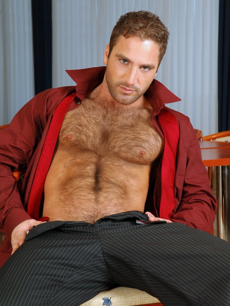 Hairy chested gay men free vintage