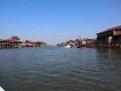 Stilted village at Inle Lake (Myanmar 2013)
