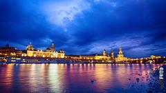 Dresden Elbufer (S.B.Foto) Tags: colors night dresden nikon nacht ufer tamron elbe elbufer blauestunde 1024mm d5100