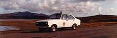 Northern Constabulary Ford Escort Mk2 Benbecula