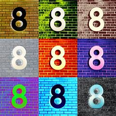 nine times eight (woodleywonderworks) Tags: photoshop grid blog rainbow colorful flickr top infinity arachnid magic nine 8 9 scorpio number oxygen lottery list lucky math 365 numeral problems eight sideways reasons motzkin octal img3581 365project ruthaaron
