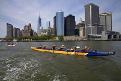 IMG_5921 (newyorkoutrigger) Tags: nyc race eastriver hudsonriver wtc newyorkharbor outriggercanoes newyorkoutrigger libertychallenge