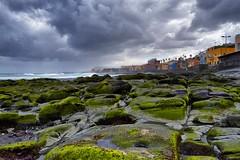 San Cristobal (Acaymo Navarro Melian) Tags: sky beach water grancanaria rock clouds agua playa cielo nubes sancristobal turismo rocas turist laspalmasdegrancanaria
