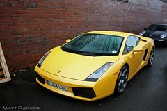 AWD Weather (MJParker1804) Tags: 2004 wet rain yellow giallo lamborghini awd v10 gallardo midas