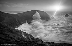 Stormy Seas #2 (WanderlustrePhoto) Tags: ocean sea cliff storm surf waves hercules bigwave