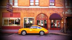 Porsche at Pato Thai (xomiele) Tags: street car porsche storefront parked
