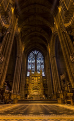 Liverpool Cathedral - Worship (Glyn Owen Photography & Image-Art) Tags: uk england glass architecture liverpool worship cathedral mosaic arches landmark stained holy tiles anglican merseyside