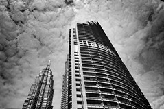 Kuala Lumpur (streettog) Tags: urban bw lines buildings architect kl iphone5 uploaded:by=flickrmobile flickriosapp:filter=nofilter