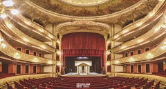 Teatro Municipal (A.Sarco) Tags: santa teatro theatre room stage sala seats opening fe obra oeuvre actuacion butacas playacting