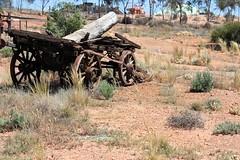 Worked hard (JungleJack22) Tags: rural work canon john wagon log rust country capital ss rusty wa cart hardwork kalgoorlie ruraldecay dray
