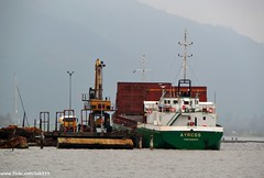 Ayress (Zak355) Tags: boat timber argyll vessel sandbank dunoon cargoship mvayress