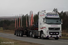 Barclay Inverness Volvo FH 540 SK60 AOF (Kilmachalmag) Tags: forestry timber logs trucks skeletal sawmill a9 lorries invernessshire hgv lorrys tomatin lorryphotos alucar