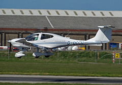 G-OCCU (SteveDHall) Tags: diamond blackpool da40 diamondda40 diamondda40star goccu