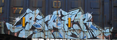 Stae 2 (Skyline Crony) Tags: street 2 art train graffiti paint tag caps piece bomb freight stae rusto