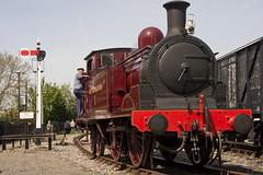 IMG_3150-1 (Roger J Brown) Tags: box centre north may 4th railway class steam e gw signal railways gala metropolitan didcot no1 radstock 2014 044t