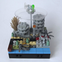 post-apoc : the old towers (JETfri) Tags: lego microscale postapoc ffol