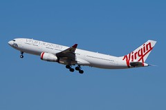 VH-XFG Virgin Australia Airbus A330-243 (johnedmond) Tags: perth ypph australia airbus a330 virgin aviation aircraft aeroplane sel55210 55210mm