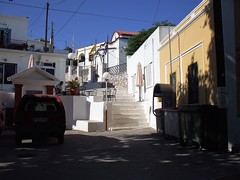 Kritinia (Francesco Pesciarelli) Tags: rhodes village greece silence sun buildings redcar slowtime slowlife flickr pesha rodos