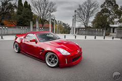 SUPER MADE Nissan Fairlady on WORK Meister L1 (WORK Wheels Japan) Tags: work workwheels nissan fairladyz fairlady z33 meister l1 supermade