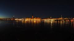 The City by the Angle of the Fish (jurgenkubel) Tags: stockholm samyang75mm stad city stadt nightshot kvällsfoto sweden sverige schweden