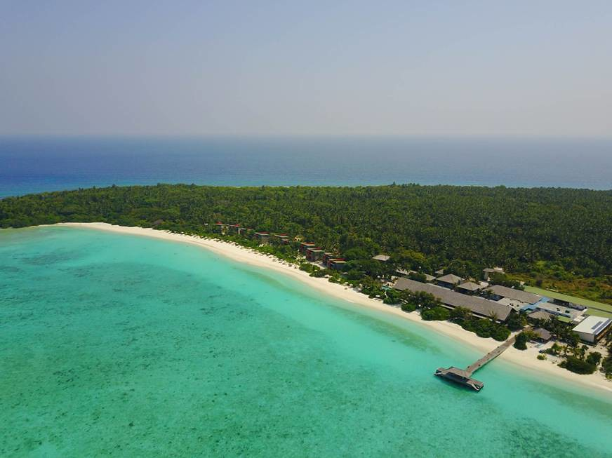 The Barefoot Eco Hotel- Aerial