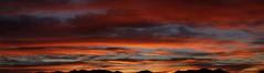 Sunrise 2 6 17 #05 Panorama (Az Skies Photography) Tags: sun rise sunrise morning daybreak cloud clouds red orange yellow gold golden salmon black rio rico arizona az riorico rioricoaz sky skyline skyscape arizonasky arizonaskyline arizonaskyscape canon eos rebel t2i canoneosrebelt2i eosrebelt2i arizonasunrise february 6 2017 february62017 2617 262017