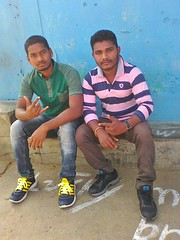 Chaitan with Trinath uncle pic of 2017 (Chaitan Deep) Tags: hi am chaitan deep smartboy mandel gaon frnds calling chandu aamirianmad