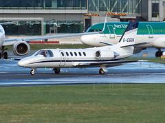 G-CGOA Cessna 550 Citation II (Irish251) Tags: dub eidw dublin airport ireland