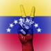 Peace Symbol with National Flag of Venezuela