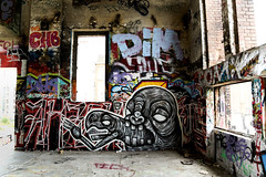TM (Talissa Mehringer) Tags: street urban building berlin art abandoned graffiti tm urbex