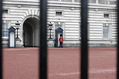 Buckingham Palace (carrie @nne) Tags: uk greatbritain red england london nikon gate europe guard buckinghampalace 2012 d80