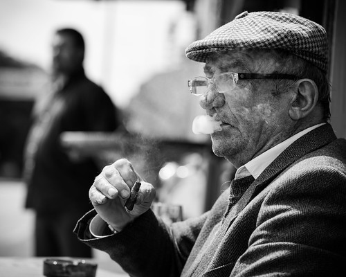 The Tuscan cigar smoker