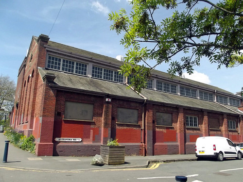 Bournville Electrical Substation - Alexandra Road / Mary Vale Road, Bournville