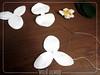 Orquídea Branca - White Orchid (Ateliê Lecanto) Tags: white orchid flower pattern flor felt mold feltro branca molde orquídea