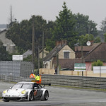 2013 24 Hours of Le Mans Test Day - June 8-9, 2013 - Le Mans, France<br> Photo © Porsche AG