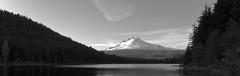 Trillium Lake & Mt. Hood (Orbmiser) Tags: camping wallpaper bw oregon portland spring nikon hiking mthood lightroom trilliumlake d90 sigma1020
