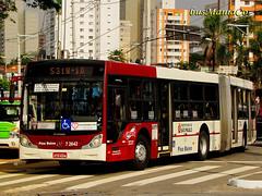 7 2642 Campo Belo  DSC02048 (busManíaCo) Tags: bus buses mercedesbenz urbano ônibus autobus autocarro articulado o500ua induscar busmaníaco caiomondegoha