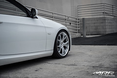 BMW_328i_MRR_GT8_WHEELS_HS_05 (MRR WHEELS) Tags: white silver wheels tires bmw rims e90 328i