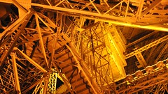 Eiffel Tower illumination, Paris, Ile-de-France