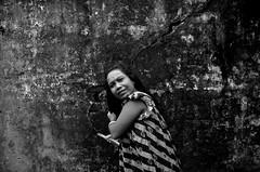 Facing one's own (shankarsarkar) Tags: portrait india face blackwhite women mother dailylife kolkata westbengal sonagachi redlightarea