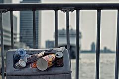 Garbage (The Wolf) Tags: city netherlands garbage rotterdam junk cruiseship msrotterdam