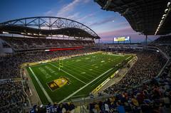 Investors Group Field (bryanscott) Tags: sunset canada building architecture winnipeg dusk stadium manitoba bluebombers