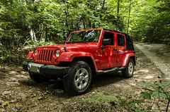 2013 Jeep Wrangler Unlimited Sahara (Zane Merva - AutoInsane.com) Tags: jeep 4x4 review unlimited wrangler driven roadtest zanemerva autoinsanecom